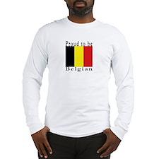 Belgium Long Sleeve T-Shirt
