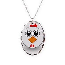 Cartoon Chicken Face Necklace