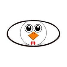 Cartoon Chicken Face Patches