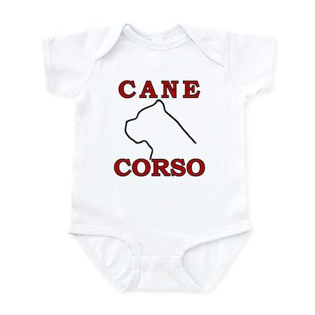 Cane Corso Logo Red Infant Bodysuit