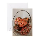Eggs in Glass Vessel Greeting Cards (Pk of 10)