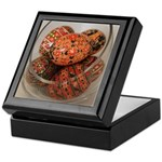 Eggs in Glass Vessel Keepsake Box