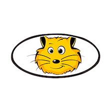 Cartoon Cat Face Patches
