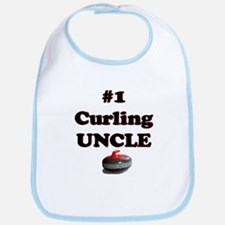 #1 Curling Uncle Bib