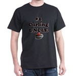 #1 Curling Uncle Dark T-Shirt