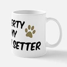 Llewellin Setter: Property of Mug