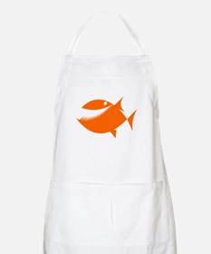 Orange Fish Apron