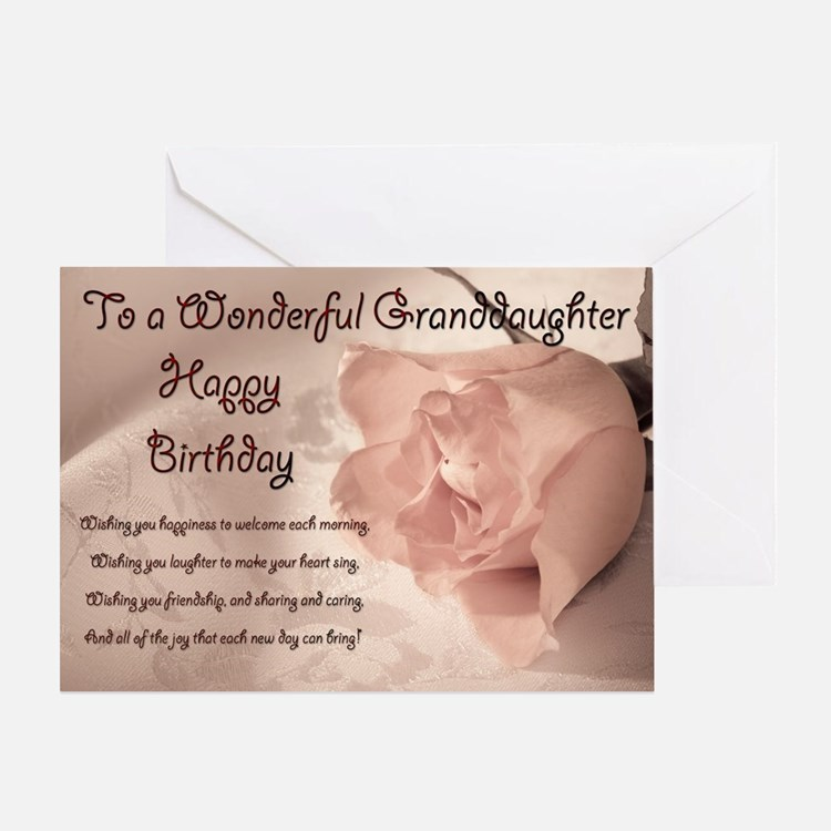 granddaughter greeting cards  card ideas, sayings, designs, Birthday card