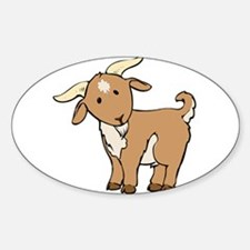 Cartoon Billy Goat Decal