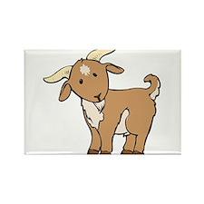 Cartoon Billy Goat Rectangle Magnet