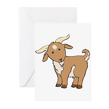 Cartoon Billy Goat Greeting Cards (Pk of 20)