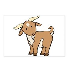 Cartoon Billy Goat Postcards (Package of 8)