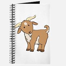 Cartoon Billy Goat Journal