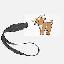Cartoon Billy Goat Luggage Tag