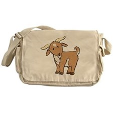 Cartoon Billy Goat Messenger Bag