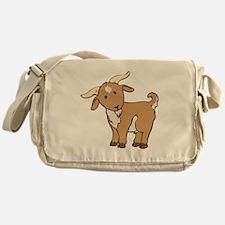 Cartoon Billy Goat Messenger Bag