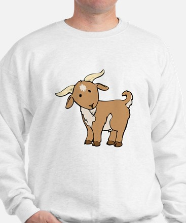 Cartoon Billy Goat Sweatshirt