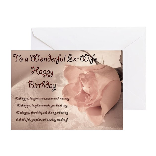 ex wife greeting cards  card ideas, sayings, designs  templates, Birthday card