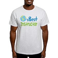 Earths Best Instructor T-Shirt