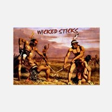 Wicked Sticks Lacrosse Rectangle Magnet
