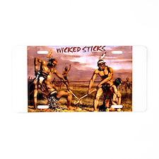 Wicked Sticks - Lacrosse Aluminum License Plate
