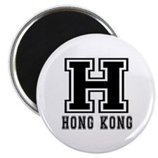 "Hong Kong Designs 2.25"" Magnet (10 pack)"
