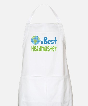 Earths Best Headmaster Apron
