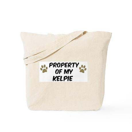 Kelpie: Property of Tote Bag