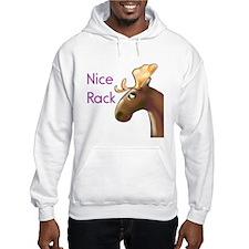 Nice Rack, Moose Hoodie