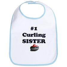 #1 Curling Sister Bib
