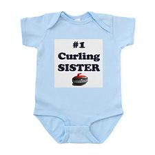 #1 Curling Sister Infant Bodysuit