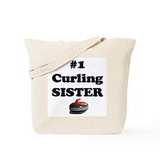 #1 Curling Sister Tote Bag