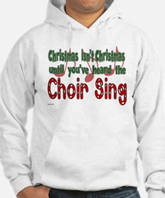 Christmas...Choir Sings Hoodie