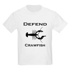 Nola Defend Crawfish T-Shirt