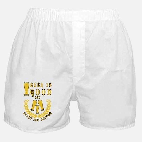 Unique Beerpong Boxer Shorts