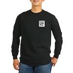 Money Exchange Long Sleeve Dark T-Shirt