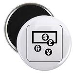 Money Exchange Magnet