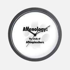 Affenology Wall Clock