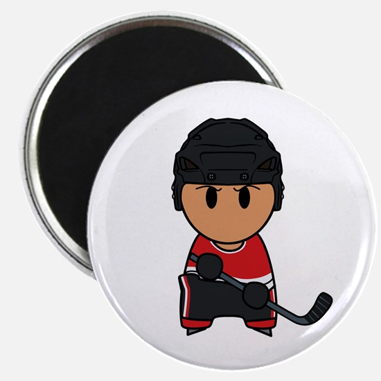 "super hockey player yoshii 2.25"" Magnet (10 p"