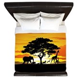 African animal King Duvet Covers