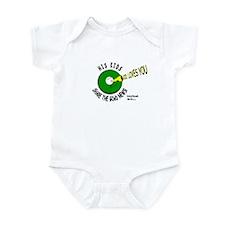 SHARE THE GOoDNEWS...God Loves You! Infant Bodysui
