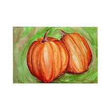 Pumpkins Rectangle Magnet