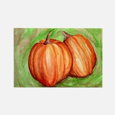 Pumpkins Rectangle Magnet
