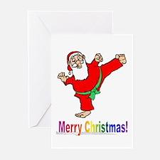 Santa Kicker Greeting Cards (Pk of 10)