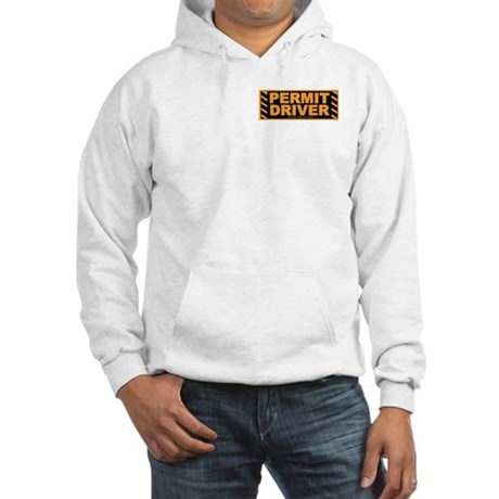 Permit Driver Wear Hooded Sweatshirt
