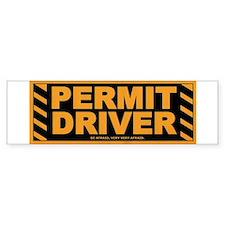 Permit Driver Wear Bumper Bumper Sticker