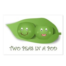 PEAS IN A POD Postcards (Package of 8)