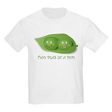 PEAS IN A POD Kids T-Shirt