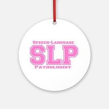 SLP (Pink) Ornament (Round)