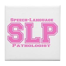 SLP (Pink) Tile Coaster